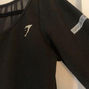 Gymshark Tops - GymShark- Nikki Blackketter black long sleeve shir